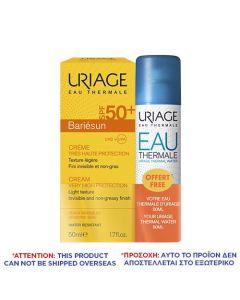 Uriage Bariesun Creme SPF50+ 50ml + Eau Thermale 50ml