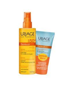 Uriage Bariesun Spray SPF50+ 200ml + After Sun Repair Balm 50ml
