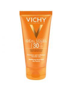 Vichy Ideal Soleil Emulsion Anti-Brillance Toucher Sec SPF30 50ml