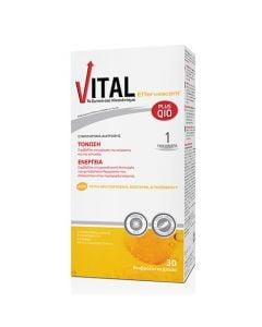 Vital Plus Q10 Effervescent 30 Tabs