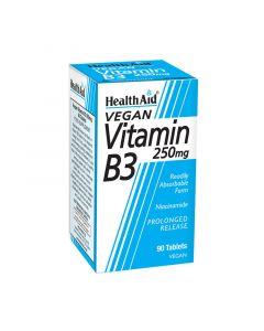 Health Aid Vitamin B3 250mg 90 Tabs Βιταμίνη