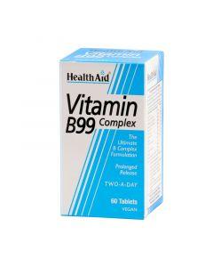 Health Aid B 99 Complex 60 Tabs Σύμπλεγμα Βιταμινών Β