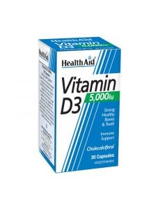 Health Aid Vitamin D3 5000iu 30 Caps Βιταμίνη