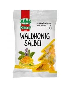 Kaiser Waldhonig Salbei 75gr Καραμέλες για το Λαιμό