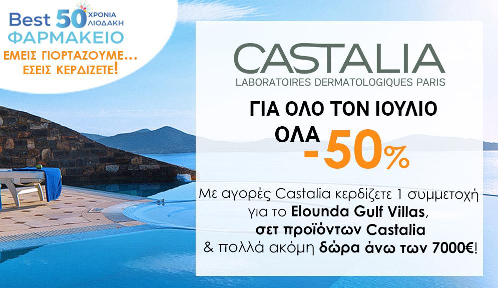 Castalia Διαγωνισμός Bestpharmacy.gr