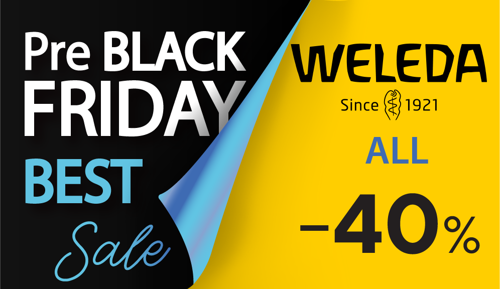 Weleda Black Friday